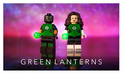 [DC] Of Dual Will (Jonathan Wong Photography) Tags: willpower jessicacruz simonbaz greenlanterns dcrebirth dccomics lego