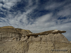 Bisti Badlands-21 (jamesclinich) Tags: bisti badlands danazin wilderness farmington newmexico nm rock desert clouds sky landscape handheld availablelight olympus omd em10 mzuiko1240mmf28pro jamesclinich adobe photoshop topaz denoise detail