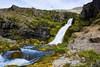 Waterfall Iceland. (ost_jean) Tags: waterfall waterval iceland nature ostjean nikon d5200 tamron sp af 1750mm f28 xr di ii vc ld rock sky mountainside river grass longexposure water stream ijsland