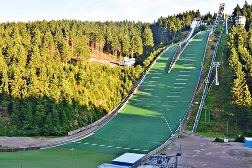 Sprungschanze Oberhof