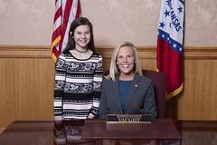 2-15-17 House Page Kate Baker Rep Vaught (Arkansas Secretary of State) Tags: 21517 house page kate baker rep vaught