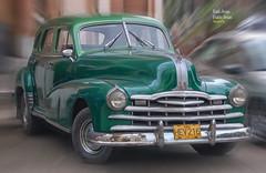 (539/17) Coches en La Habana I (Pablo Arias) Tags: pabloarias photoshop photomatix nxd cuba lahabana auto coche