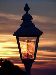Cromer Sunset (rachappleby) Tags: cromer sunset north norfolk coast landscape beach summer evening lampost sunlight sea sand seaside eastrunton