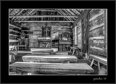 Gladwin County Historical Village  Optimizer (the Gallopping Geezer '5.0' million + views....) Tags: school schoolhouse historic old historicvillage gladwincounty standish mi michigan oneroom 1room education learn learning student rural country canon 5d3 24105 geezer 2016 tonemap tonemapped processing photomatrix