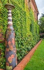 Rufford Abbey... (Photo_stream_this) Tags: rufford abbey nottinghamshire ceramics wall art ivy