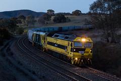2017-08-26 SSR G514-GL111 Cullerin 9347 (deanoj305) Tags: cullerin newsouthwales australia au 9347 graincorp grain train locomotive freight ssr southern shorthaul railroad g514 gl111 main south line nsw