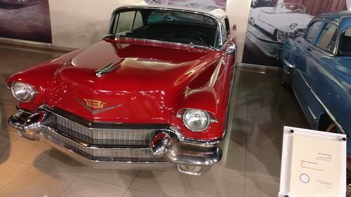 Cadillac coupe de Ville, 1957
