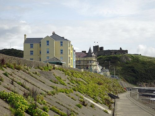 Buildings and Criccieth Castle