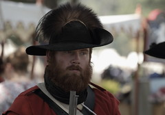Revolutionary War Days, Cantigny Park. 15 (EOS) (Mega-Magpie) Tags: canon eos 60d cantigny park wheaton dupage il illinois usa america revolutionary war days people person man dude guy fella hat outdoors beard