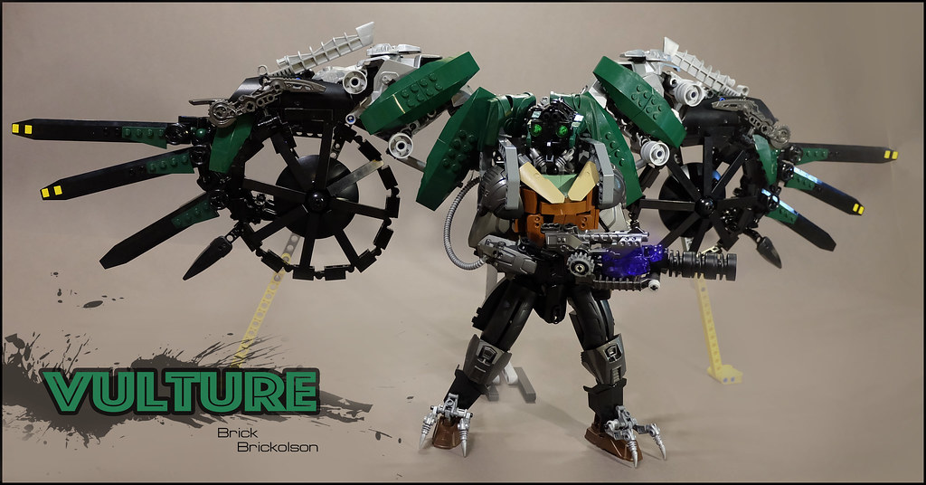 Lego Marvel Moc: The World's Newest Photos Of Lego And Vulture