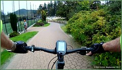 City Centre Park Connector (Bill 2.2 Million views) Tags: bearmountain golf course bearmountainparkway pga ebike bicycle cycling skirtmountain mountfinlayson finlayson evo electricassist langfordlake citycentrepark stewyoung gograb screenshot gopro rolex