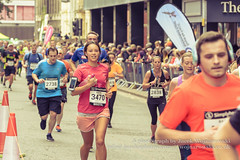 Marathon Runners 95, Simplyhealth Great Bristol Half Marathon (Jacek Wojnarowski Photography) Tags: autumn blurbackground bokeh bristol city citylife depthoffield england europe fall halfmarathon marathon outdoor people selectivefocus simplyhealthgreatbristol splittone splittoning sport uk urbanscene