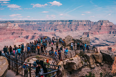 Crowd at Mather Point (brianekern) Tags: grand canyon arizona loxia 50mm crowd landscape
