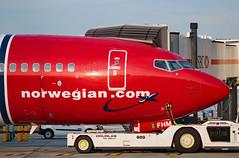 EI-FHM - Boeing 737-8JP - LGW (Seán Noel O'Connell) Tags: norwegian eifhm boeing 7378jp 737 738 b738 gatwickairport lgw egkk cfu lgkr 26l d89474 ibk9474