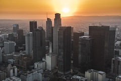 Los Angeles (Taner Alkaya) Tags: losangeles dtla downtownla california helicopter aerial aerialphotography r22