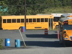 Montauk Student Transport #503 (ThoseGuys119) Tags: montaukbusservice montaukstudenttransportationllc schoolbus longislandny bluebird vision new 2015 blackout