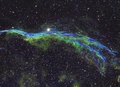 NGC6960 SHO (Photonen-Sammler) Tags: ngc6960 veil nebula narrowband halpha oiii sii colorful universe astrophotography astronomy