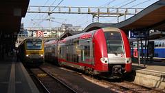 2221 (Krzysztof D.) Tags: luksemburg luxembourg europa europe dworzec station stacja bahnhof pociąg train zug kolej bahn railway emu ezt electric elektryczny piętrowy