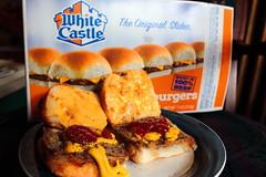 White Castle Cheeseburgers (richardzx) Tags: cheeseburger whitecastle whitecastlecheeseburger whitecastlerestaurant albuquerque richardzx slider sliders