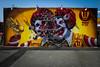 Nychos @ Coney Island (john fullard) Tags: 2017 color colour coneyisland fujixpro1 graffiti mural newyork nyc nychos paint streetart wall