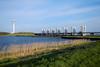Houtribsluizen and TV Tower (davidvankeulen) Tags: europe europa flevoland provincieflevoland lelystad houtribsluizen ijsselmeer markermeer water meer rijkswaterstaat davidvankeulen davidvankeulennl davidcvankeulen urbandc