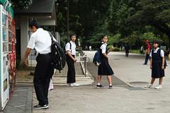 上野恩賜公園 (wilsonphoto_a) Tags: 上野恩賜公園 ueno park tokyo japan japanese travel students