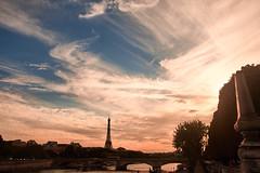 Paname (T?M) Tags: paris landscape canon 5d mark ii tour eiffel sky explore