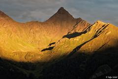 Alpenglow / Alpenglühen (Steffen Schobel) Tags: feichtenerkarlspitze alpenglühen alpenglow sunset sonnenuntergang berge mountains tirol ladis schatten shadows
