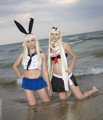 _MG_9038 (Mauro Petrolati) Tags: kancolle kantai collection cosplay cosplayer 2017 yuudachi shimakaze beach sea spiaggia mare