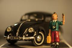 Beetle & Tintin (westfalico) Tags: herge car käfer vw beetle tintin