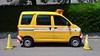 it was all yellow (troutfactory) Tags: 大阪府 関西 日本 osaka kansai japan digital asuszenfone3 軽バン lightvan repairvan workvan yellow cones 黄色