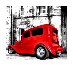 lil red riding rod.. (Stu Bo) Tags: canon certifiedcarcrazy coolcar classiccar car canonwarrior carart ford red art photoshop streetrod hotrodart idreamofcarsmotorsandhorsepower sexonwheels