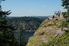 lookout rock (rovingmagpie) Tags: canada vancouver britishcolumbia deepcovelookout deepcove can150