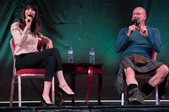 Q&A with Caitriona Balfe & Graham McTavish (StephenieEloise) Tags: starfury the highlanders outlander graham mctavish caitriona balfe
