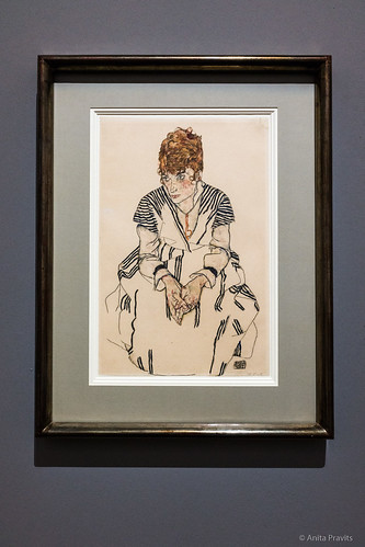 Egon Schiele: Adele Harms, die Schwägerin des Künstlers / Portrait of the Artist's Sister-In-Law Adele Harms, 1917