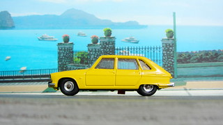 Dinky Toys Renault R16 No.166 1967 : Diorama PS2 GT4 Computer Game Backdrop Costa di Amalfi - 13 Of 31