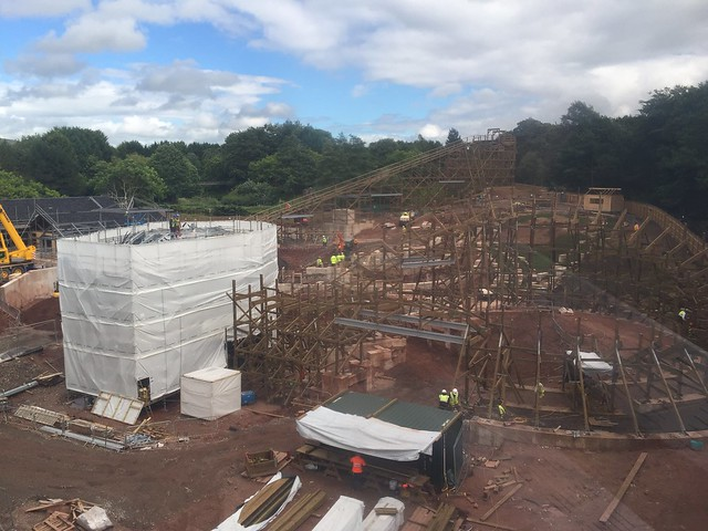 SW8 Construction Site - 3rd August 2017