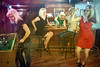 Ladies Night (Davien Orion) Tags: clones clone multiplicity multiples flickrmultiplicity explore adobephotoshop bar women red model portrait creative sonya77 party