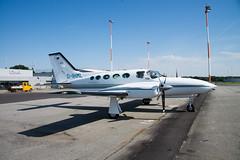 Cessna 421C : Golden Eagle III : Lübeck : Germany : EDHL (Benjamin Ballande) Tags: cessna 421c golden eagle iii lübeck germany edhl
