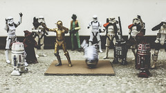 B-Driod Battle (3rd-Rate Photography) Tags: starwars r2d2 c3p0 bboy bboying breaking breakdancing dance dab toy toyphotography blackseries stormtrooper sandtrooper jawa droid r5d4 r2a3 r5k6 r2f2 astromechdroid scouttrooper greedo hiphop canon 50mm 5dmarkiii jacksonville florida 3rdratephotography earlware