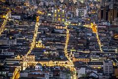 Central Quito At Night (Quito, Ecuador. Gustavo Thomas © 2017) (Gustavo Thomas) Tags: centro central downtown colonial ecuador quito quiteño ecuadorian ecuatoriano night noche cityscape city ciudad view vista travel voyage viaje trip sudamérica southamerica