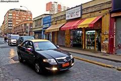 Renault Samsung SM3 Taxi - Santiago, Chile (RiveraNotario) Tags: renaultsamsungsm3 renaultsamsung taxidesantiago taxis