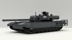 T-14 Armata (TheRookieBuilder) Tags: t14armata military mainbattletank armor lego legodigitaldesigner mecabricks blender render