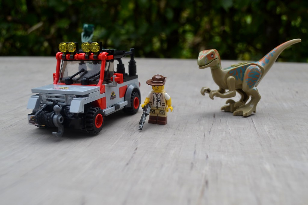 The world 39 s best photos of lego and muldoon flickr hive mind - Jurasic park lego ...