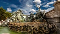 Fontain Bordeaux (YᗩSᗰIᘉᗴ HᗴᘉS +8 000 000 thx❀) Tags: bordeaux france water eau fontaine fontain sky clouds hensyasmine