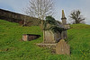 St. Mary's Collegiate Church, Youghal (Marietta Dooley) Tags: canon tombstone gravestone gravemarker ireland youghal topography grass hills wall stone headstone cork countycork stmaryscollegiatechurch mausoleum