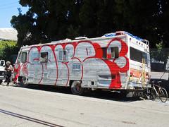(gordon gekkoh) Tags: sake btm oakland graffiti people truck
