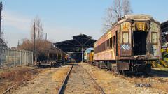 Cocheras (Juan Ruz N.) Tags: tren chile efe comedor coche pasajero rapido maestranza taller ffcc lhb