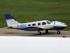 D-GEIL Piper Pa-34 Seneca IV (johnyates2011) Tags: friedrichshafen aerofriedrichshafen dgeil piper pa34 piperpa34seneca piperpa34