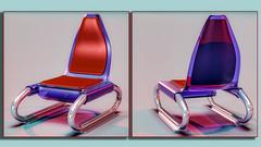 ChairD42fin (Ke7dbx) Tags: furniture furnituredesign chair industrialdesign productdesign designer design art arts artistic modo cg cgi computergraphics 3dgraphics red blue plastic